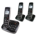 Clarity BT914 Severe Hearing Loss Cordless Phone with 2-BT914HS Expandable Handsets