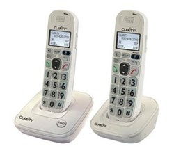 Two Handsets clarity d702 and 1 d702hs