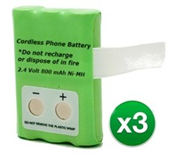 Replacement Batteries c4230b 3 pack