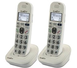Two Handsets clarity d704hs 2pack