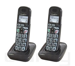 Clarity Two handsets clarity d703hs handset 2 pack