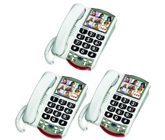 Clarity Ameriphone Picture Memory Phones Hearing Aid Compatible At