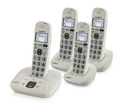 Four Handsets clarity d714 and 3 d704hs