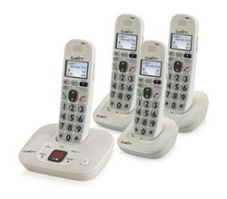 Four Handsets clarity d712 and 3 d702hs