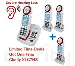 Hot Deals clarity xlc7bt + 2 xlc7hs
