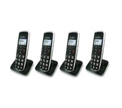Four Handsets clarity bt914hs 4 pack